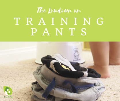 So, what is the deal with training pants anyway? Do you need them? Are they actual pants? How long should they be used for? When should you use them and when should you not? Do Pull-Ups count? The questions about this simple children's clothing item abound. This post is dedicated to the humble #trainingpants, answering all your burning questions (or likely questions you didn't know you had until right now). #pottytraining #toilettraining #ec #eliminationcommunication #pottylearning #toddler