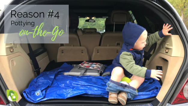 Reason #4: Pottying on the Go