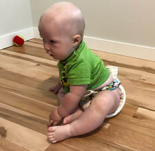 Diaper-belt example