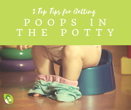 Tips for Getting Poop in the Potty